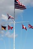Six flags Stock Photo