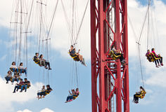 Six Flags  Adventure amusement park in Mexico City. Stock Image