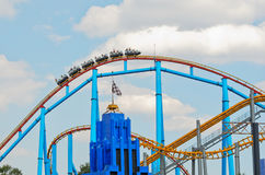 Six Flags  Adventure amusement park in Mexico City. Stock Photo