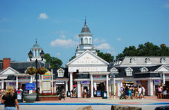 Six Flags America in Baltimore Stock Photo