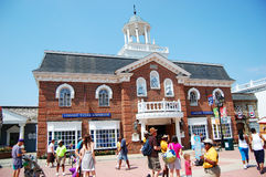 Six Flags America in Baltimore royalty free stock images