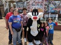 Six Flags Family photo royalty free stock photo