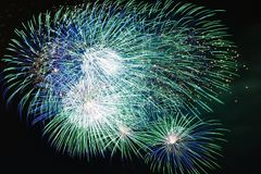 Six Flags Fireworks Royalty Free Stock Images
