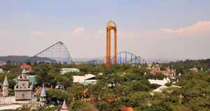 Six Flags Mexico Royalty Free Stock Photography