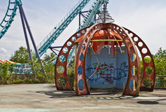 Six Flags New Orleans Stock Images