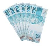Six hundred reais. Brazilian money Stock Image