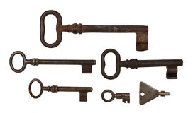 Six keys Stock Photo
