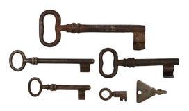 Six Keys Stock Photo