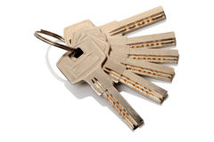 Six keys Royalty Free Stock Image