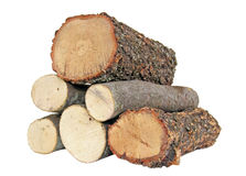 Six Logs Royalty Free Stock Images