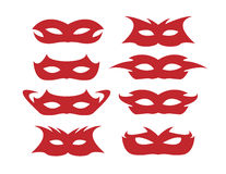 Six masks Stock Photography