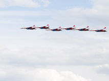 Six MiG-29 Swifts Stock Photography