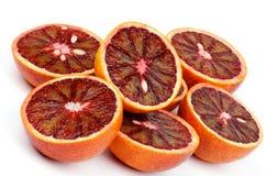 Oranges sanguines Images libres de droits