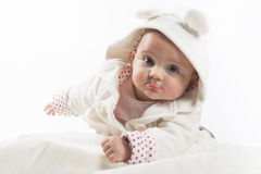 Six month baby Royalty Free Stock Images