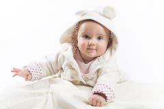 Six month baby Royalty Free Stock Photo