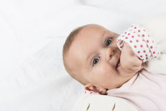 Six month baby Stock Photography