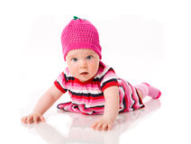 Six month girl Royalty Free Stock Photography