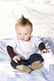 Six Month Old Baby Boy Royalty Free Stock Photography