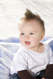 Six Month Old Baby Boy Royalty Free Stock Photo