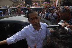 SIX MONTHS JOKOWI ADMINISTRATION Stock Images