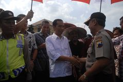 SIX MONTHS JOKOWI ADMINISTRATION Royalty Free Stock Images