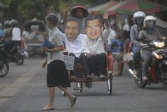 SIX MONTHS JOKOWI ADMINISTRATION Royalty Free Stock Image