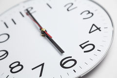 Six o'clock Royalty Free Stock Photography