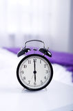 Six oclock. Bedtime collection: alarm clock showing six oclock Royalty Free Stock Photos