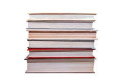 Six old books Stock Images