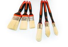 Six paint brushes  Royalty Free Stock Image