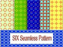 Six pattern light stye Royalty Free Stock Image