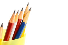Six pencils Stock Photo