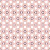 Six Petals abstract pink flowers Stock Photos
