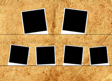 Six photo frames Royalty Free Stock Photos