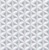 Six 6 point star pearl nacreous white seamless pattern background. vector illustration
