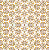 Six pointed star flower pattern Stock Photo