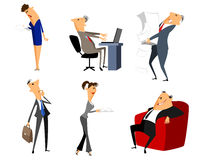 Six profession people Royalty Free Stock Images