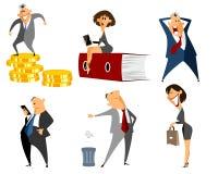 Six profession people Royalty Free Stock Photo