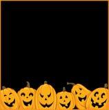 Six Pumpkins Stock Photos