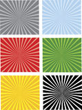 Six Separated Backgrounds. In Six Colors, easy to edit, vector illustration royalty free illustration