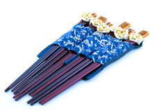 Six sets of Chinese chopsticks Stock Image