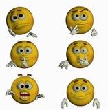 Six Smiles III/III Stock Images