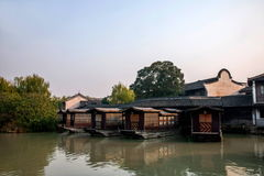 ----- Six southern town of Wuzhen Water Village Royalty Free Stock Images