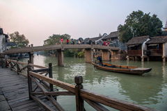 ----- Six southern town of Wuzhen Water Village Stock Photos