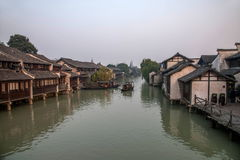 ----- Six southern town of Wuzhen Water Village Stock Image