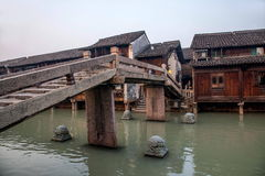 ----- Six southern town of Wuzhen Water Village Stock Photography