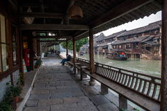 ----- Six southern town of Wuzhen Water Village Royalty Free Stock Photo