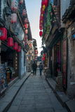 ----- Six southern town of Xitang alley Royalty Free Stock Photography