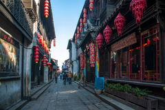 ----- Six southern town of Xitang alley Royalty Free Stock Photo