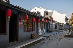 ----- Six southern town of Xitang alley Stock Images